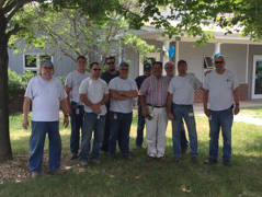 Group Photo of Facilities Maintenance Team