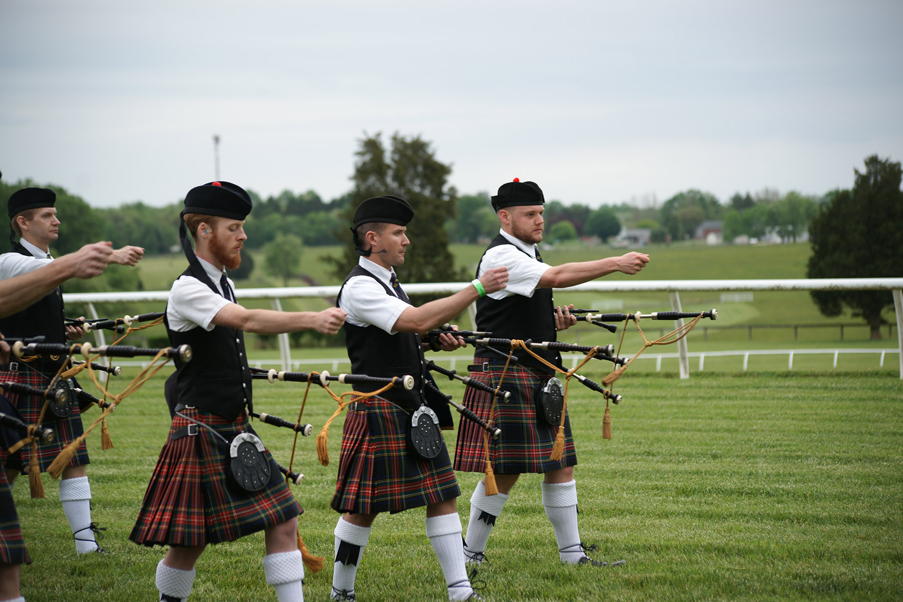 The annual Scottish Games, held in Fair Hill, celebrate Celtic heritage with events, cuisine and fun!