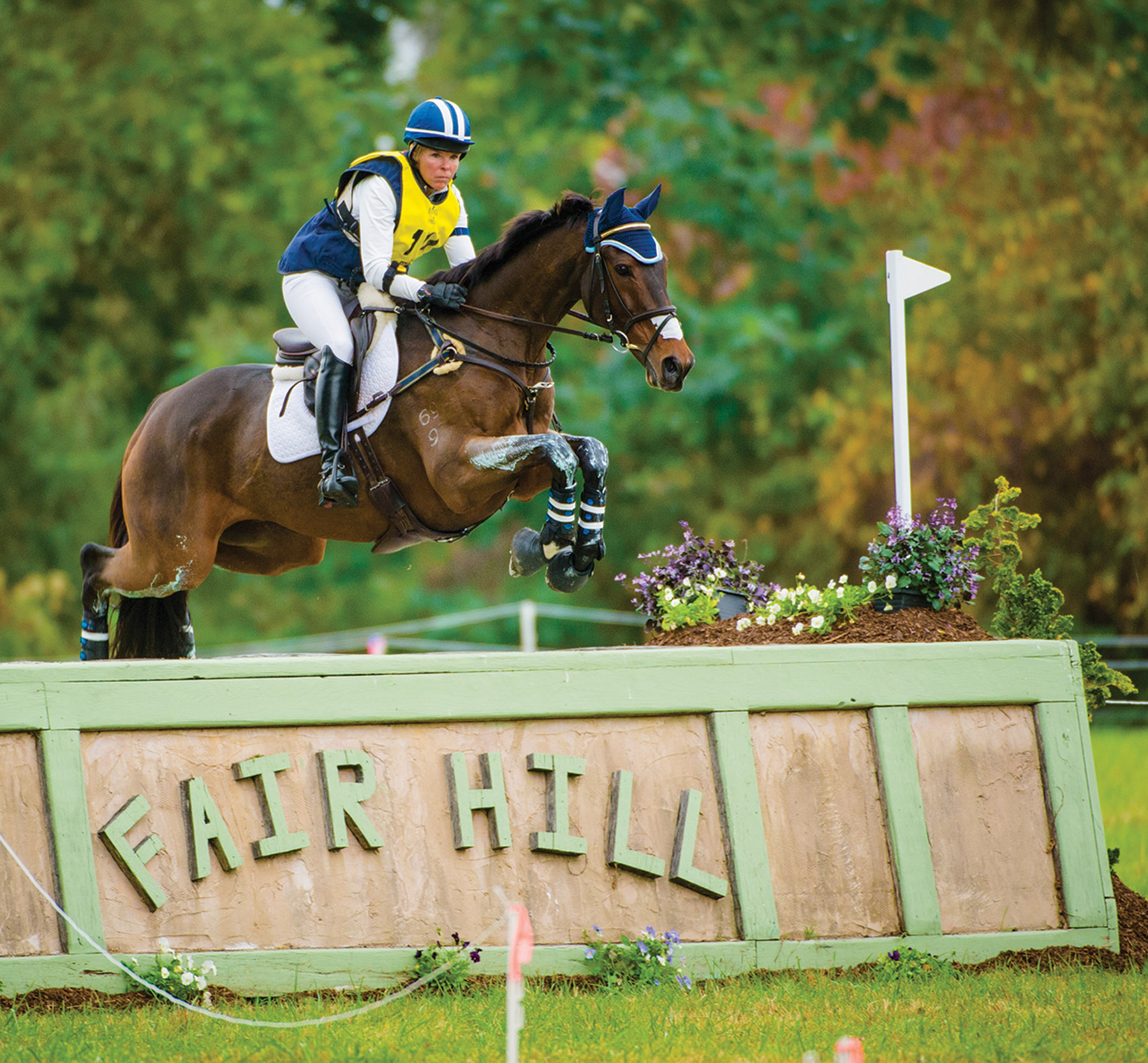 Shannon Brinkman participates in the Fair Hill International