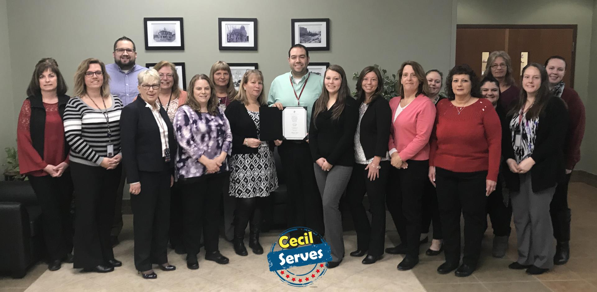 Cecil County Earns 31st Consecutive Annual Award for Excellence in Financial Reporting