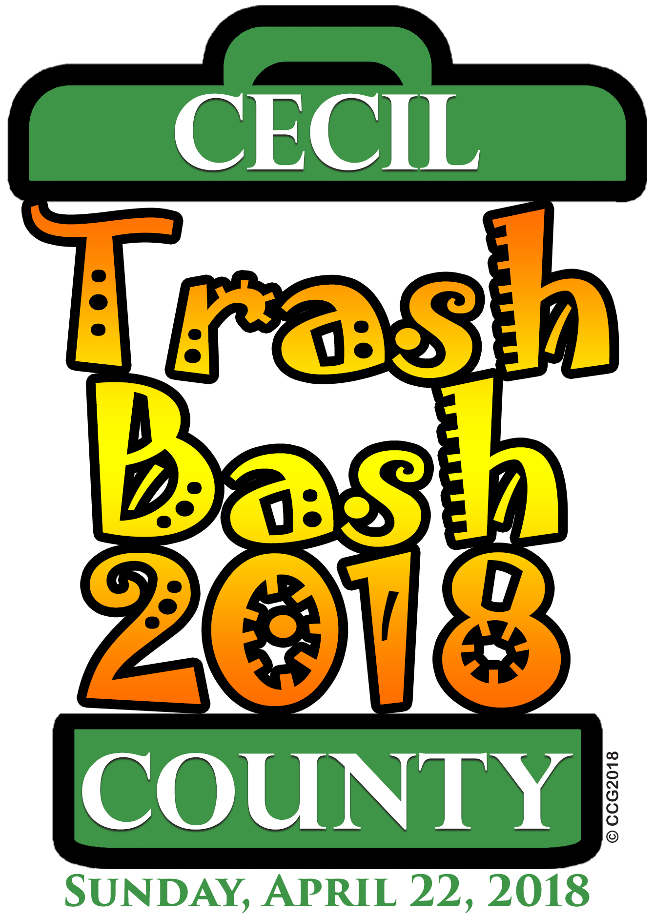 CECIL COUNTY TRASH BASH 2018