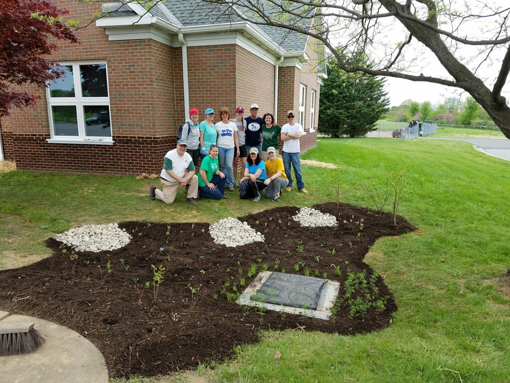 Watershed Stewards Academy Completes Class Project at Rising Sun Library