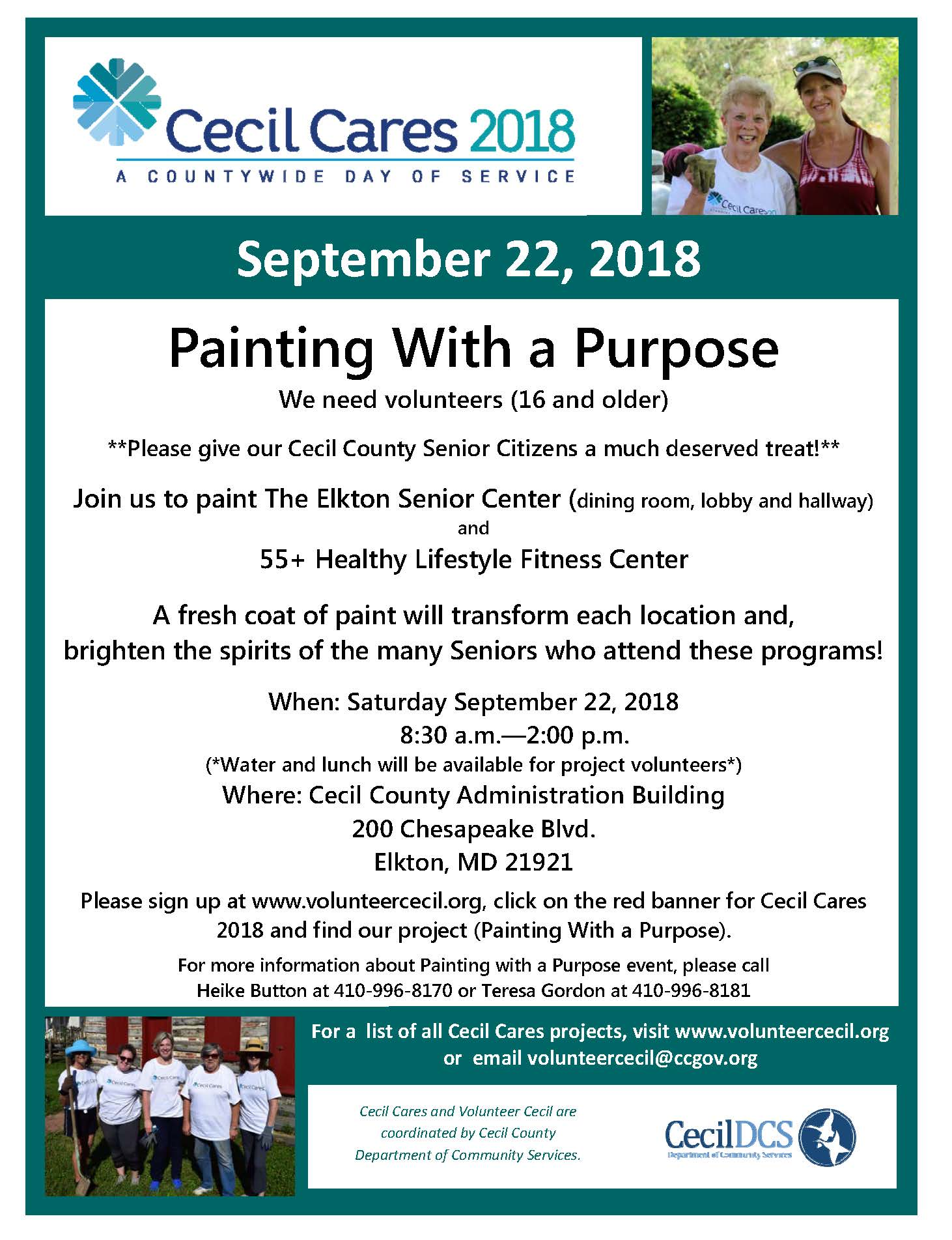 CECIL CARES Painting with a Purpose 2018 smm