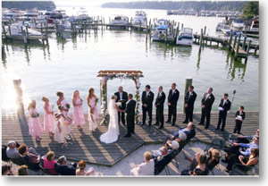 Wedding at the water
