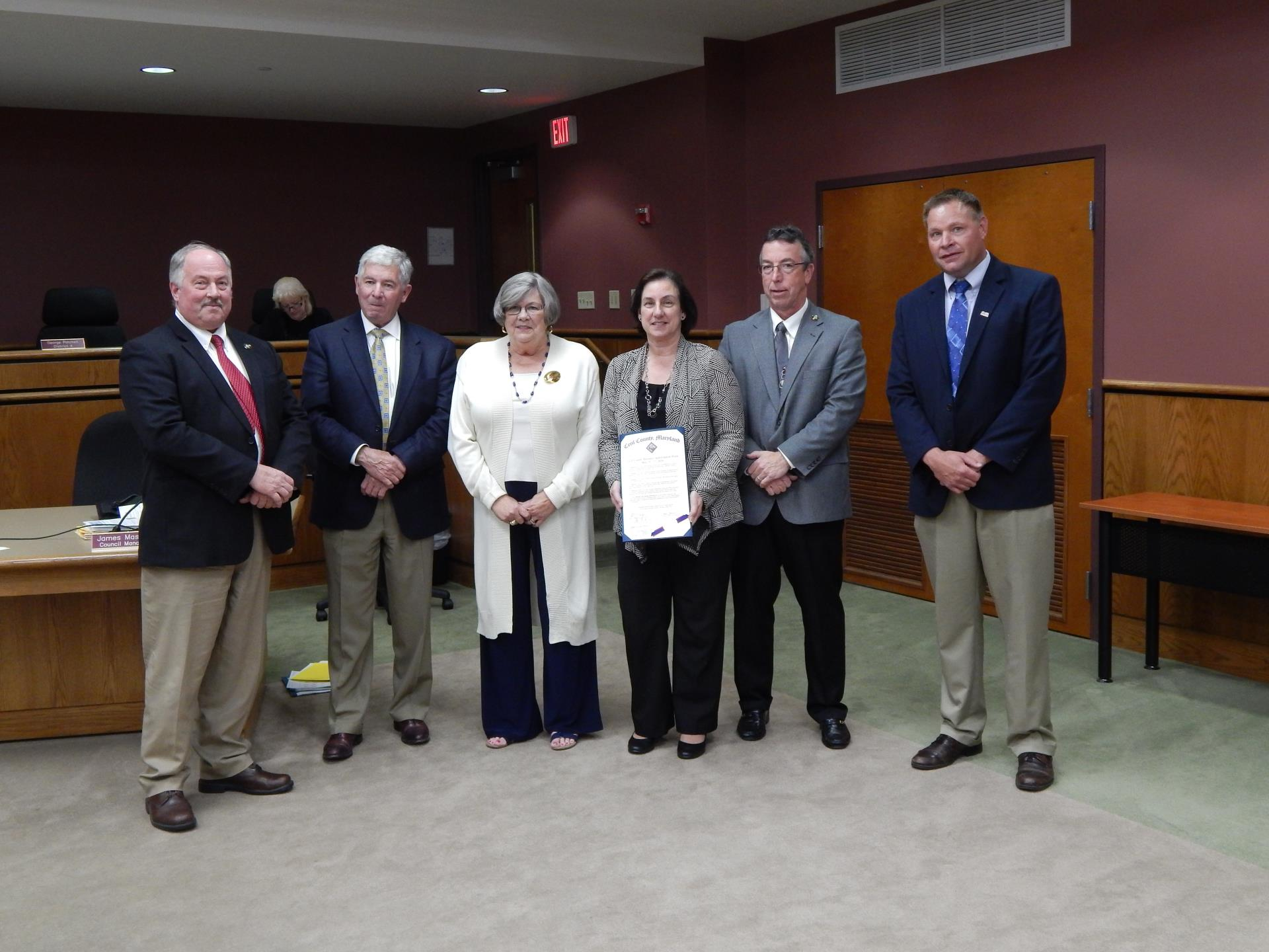 Presentation for Cecil County Business Appreciation Week May 23-27, 2016
