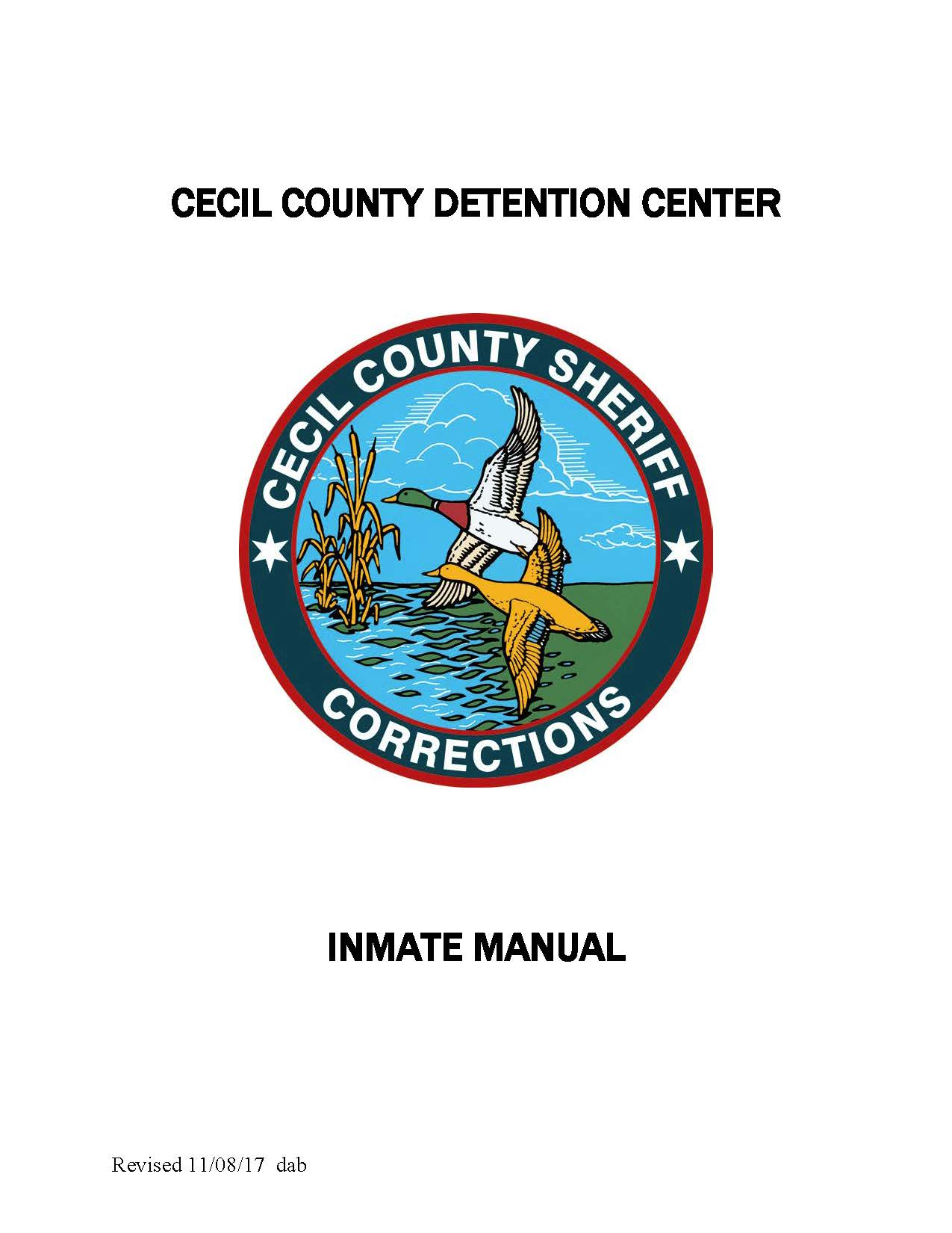 Inmate Services | Cecil County
