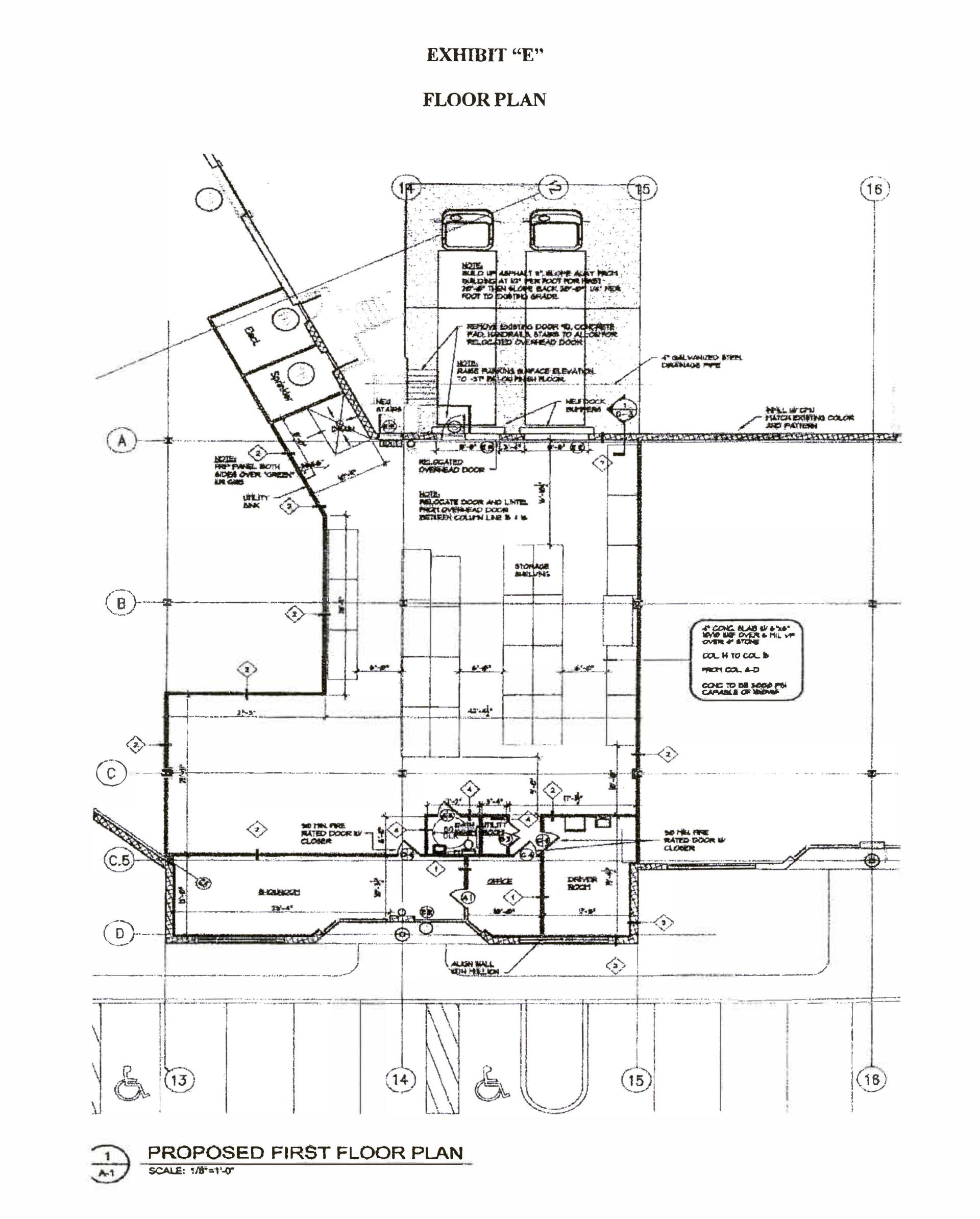 Suite 105 Floorplan