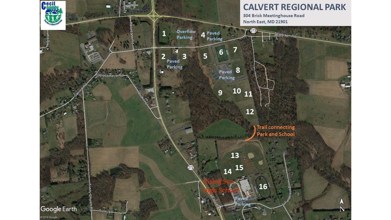 Calvert Field Map 1-16