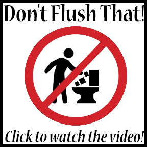 don't flush that