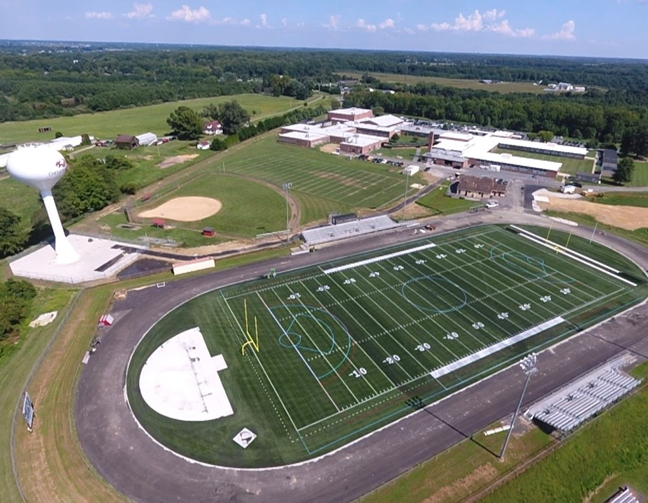Bo Manor Field Drone Pic 1