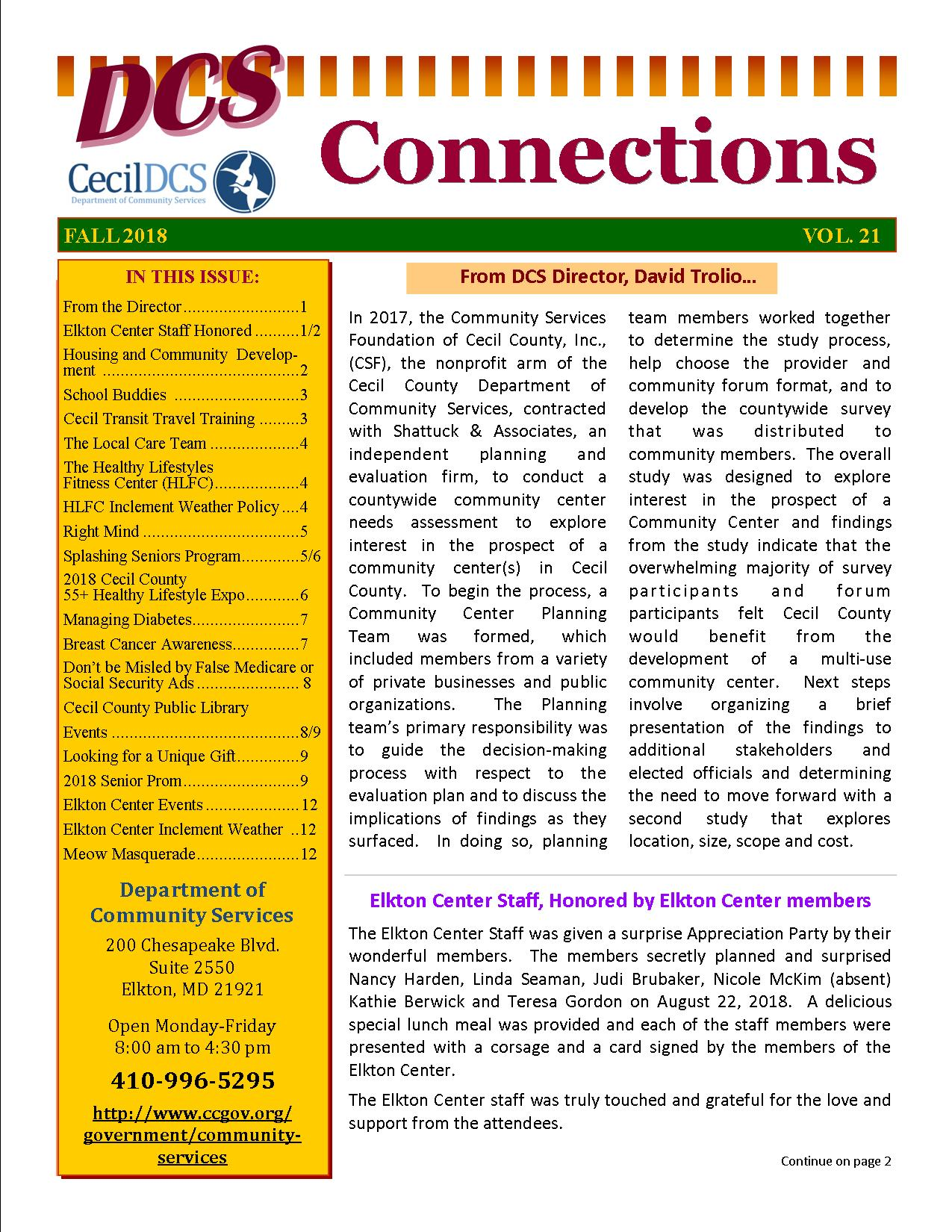 Connections Vol. 21