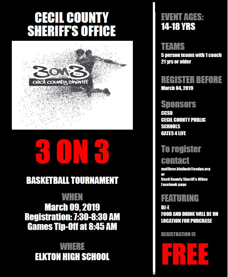 3 on 3 Flyer
