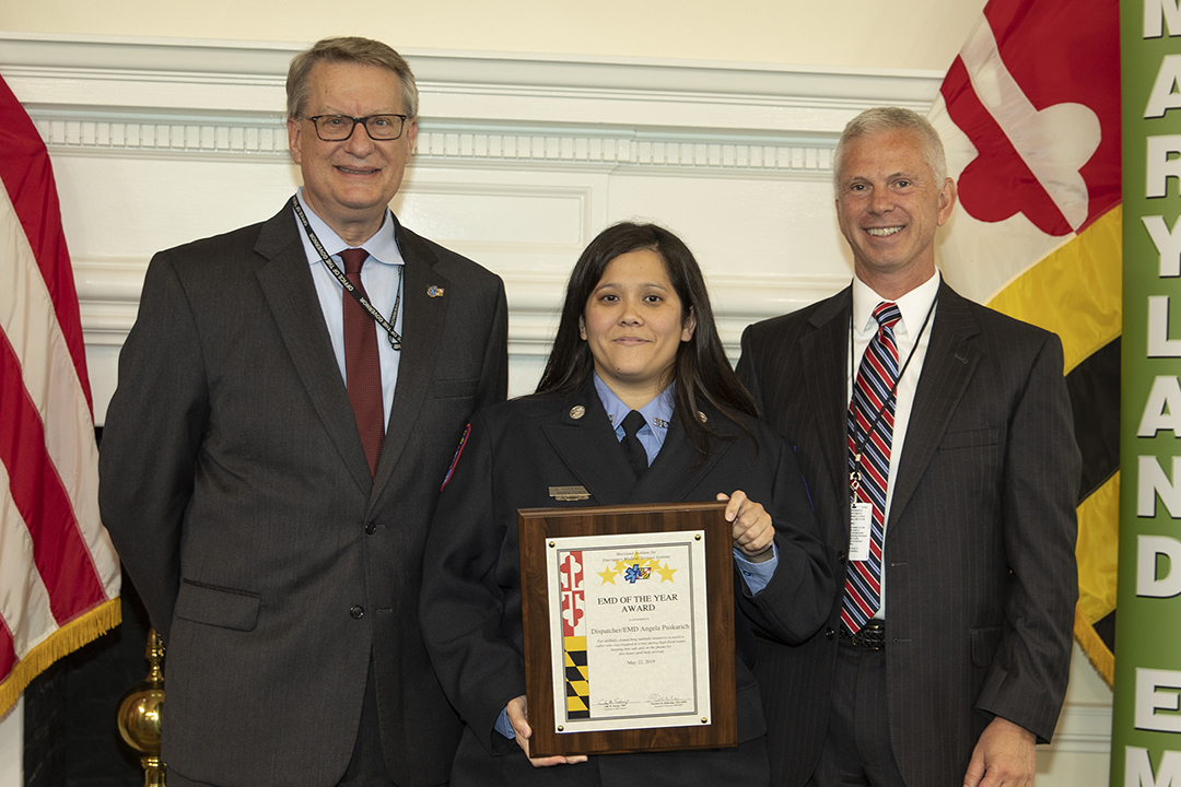 Cecil County's Angela Puskarich named Maryland's Dispatcher
