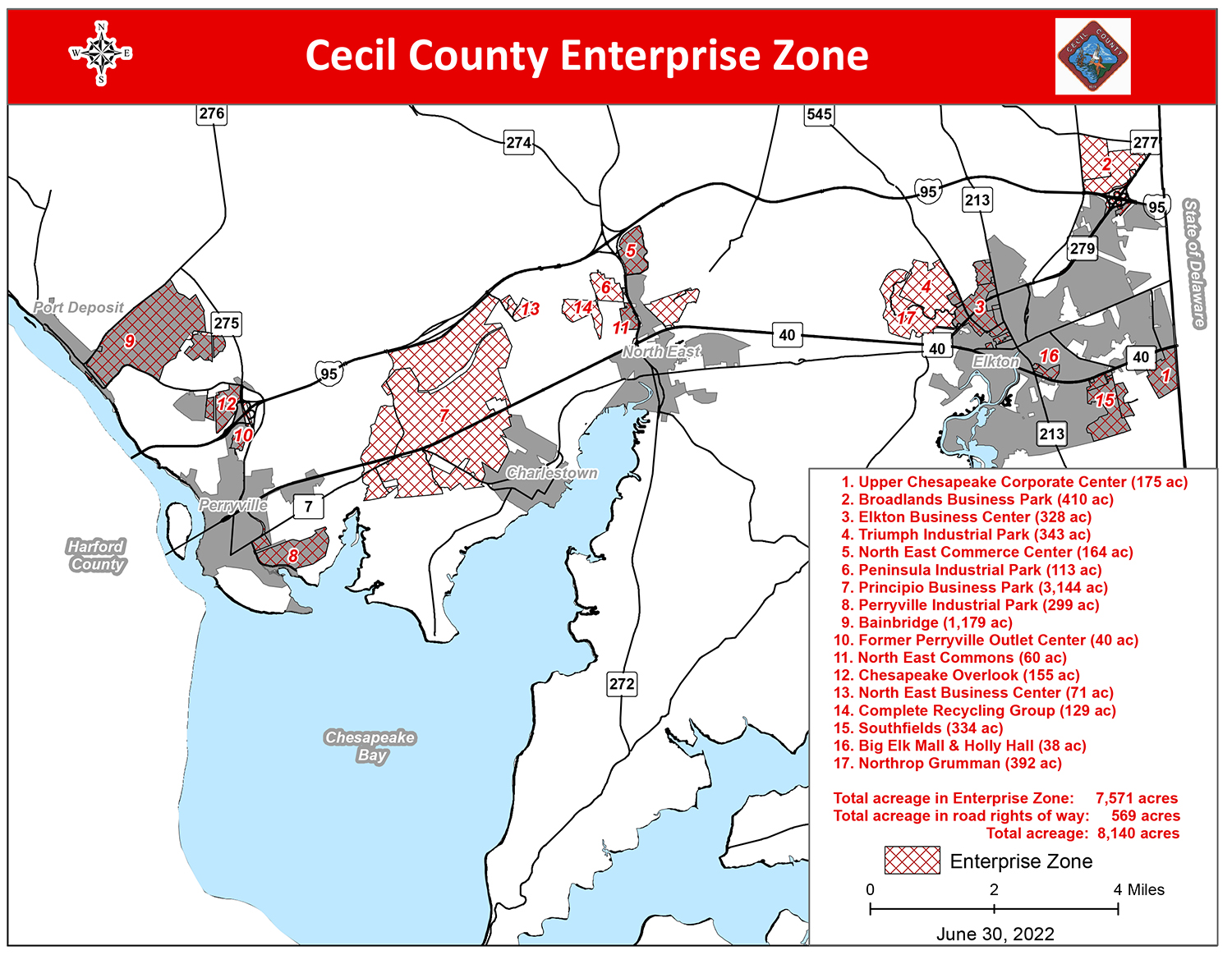 Cecil County Enterprise Zones