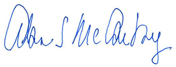 Alan McCarthy Signature 2