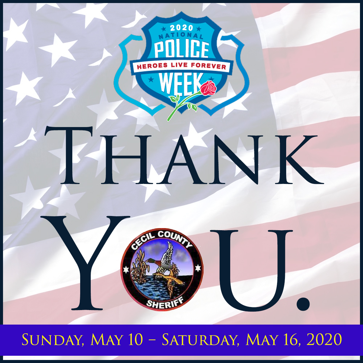 NATIONAL POLICE WEEK 2020