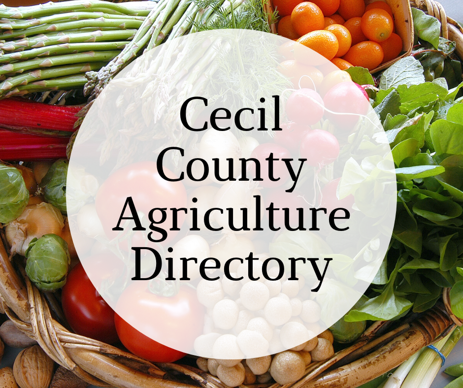 Cecil County Agriculture Directory (1)
